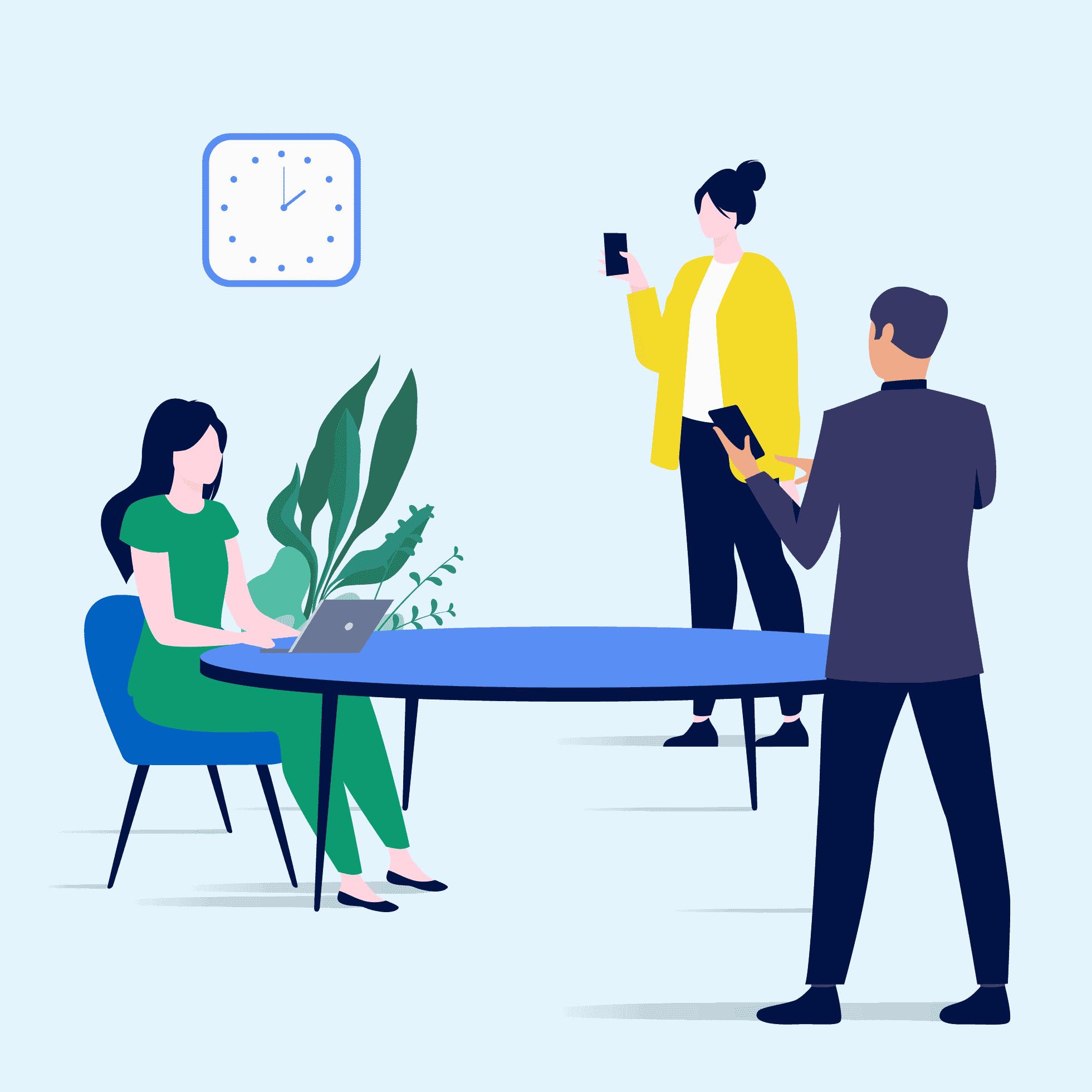 Teamwire für KMUs Hero