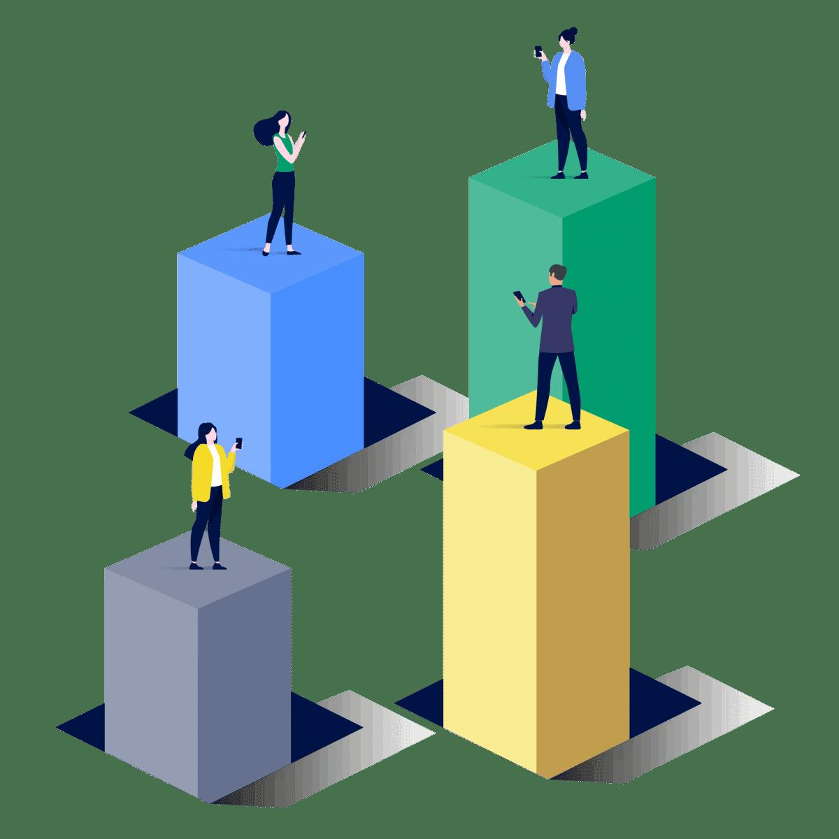 Dezentrale Kommunikation in Unternehmen